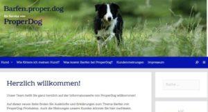Neue Info-Seite von ProperDog