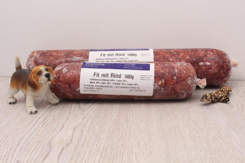 Neue Verpackung Frostfleisch